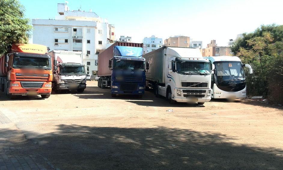 נתניה: מטרד האוטובוסים והמשאיות