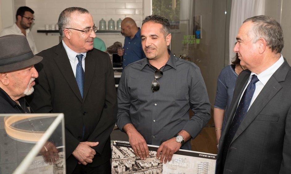 """נתניה: הונחה אבן פינה למיזם התמ""""א הגדול בעיר נורדאו הצעירה"""