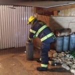 נתניה: דליפת גז נתגלתה בבניין במרכז העיר