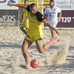 כדורגל חופים: נתניה ניצחה את חיפה 3:5