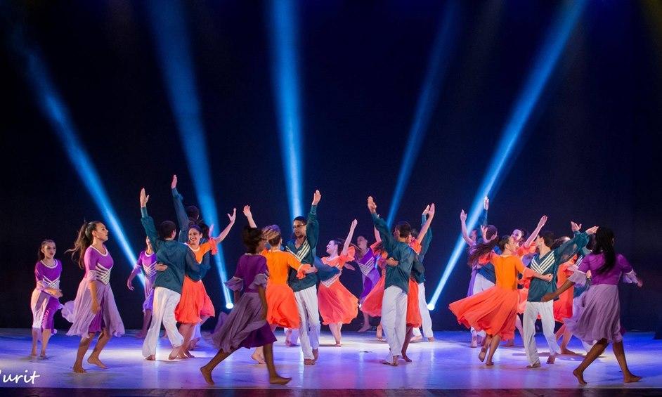 מעל 100 רקדני חבצלות נתניה לפסטיבל כרמיאל