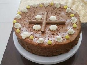 עוגת טורט רכה וגבוהה במיוחד