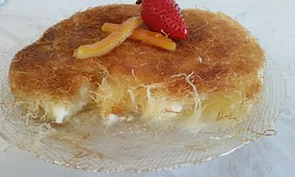 כנאפה גבינת עזים וחמאה מזוקקת - נתניה און ליין נתניה