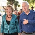 השר גלנט ביקר בנתניה: נרכז מאמץ בנושא פינוי-בינוי בשכונות ומרכז העיר