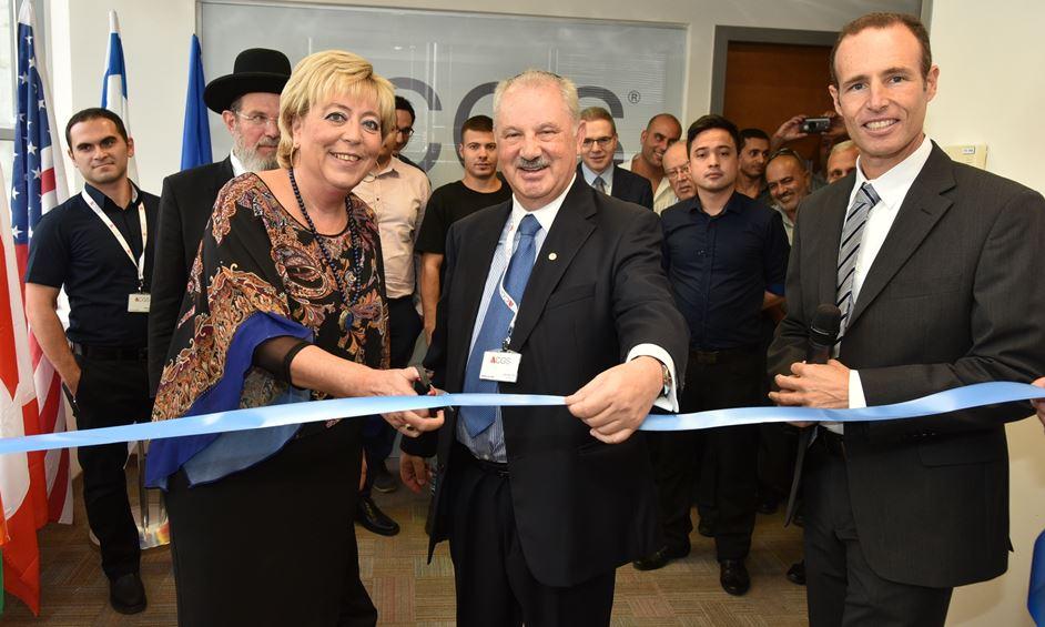 CGS הבינלאומית פתחה משרדיה בעיר נתניה