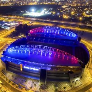 אצטדיון נתניה - דגל צרפת