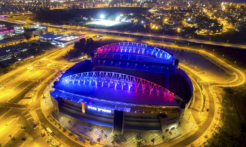 שלושה אוהדים עוכבו לחקירה מחוץ לאצטדיון נתניה