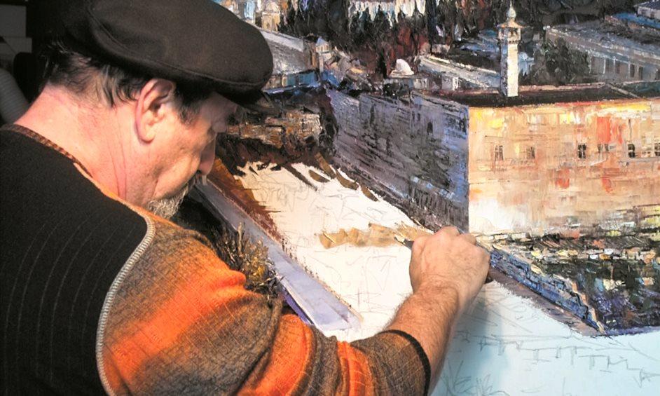 """סופ""""ש: בית פתוח ומפגש עם הצייר הבינלאומי מיכאל חזין"""