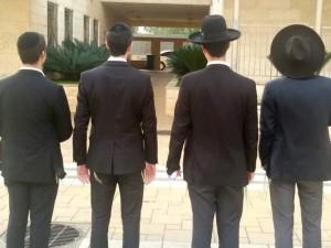 נתניה: מתנדבים ראשונים מהמגזר החרדי הצטרפו למערך השירות האזרחי