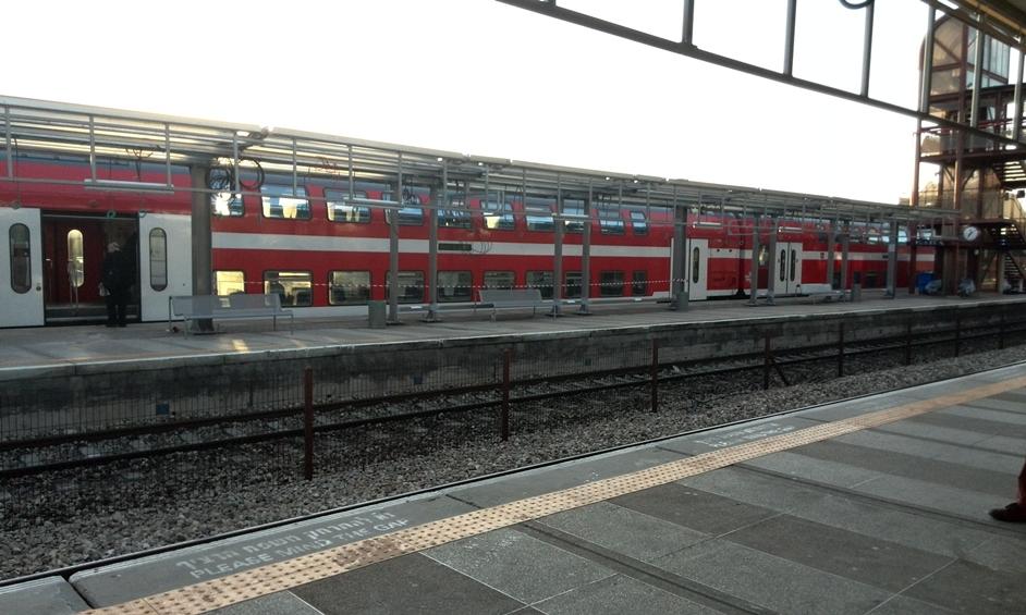 נתניה: אדם נהרג מפגיעת רכבת