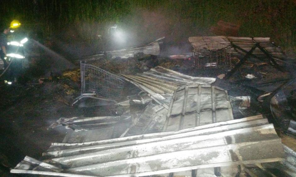 נתניה: שני סוסים נשרפו למוות
