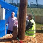 נתניה: תרגיל חירום לנפילת טילים