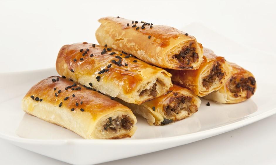 בורקס בשר ופטריות – הגרסה המהירה