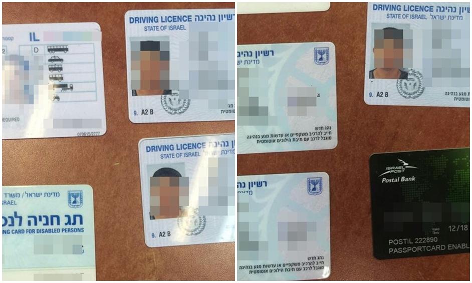 נתניה: נחשפה מעבדה לזיוף רישיונות ותווי נכה