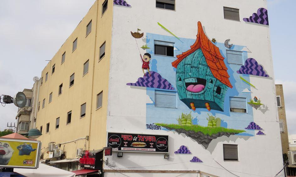 נתניה: פסטיבל הגרפיטי חוזר