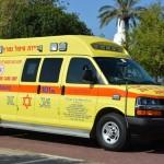 נתניה: פועל נפצע בינוני לאחר שנפל מקומה שניה