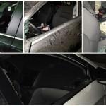 נתניה: 12 רכבים נפרצו בלילה אחד בבניין אחד