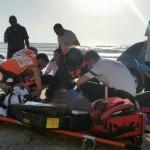 נתניה: בן 70 טבע למוות בחוף סירונית
