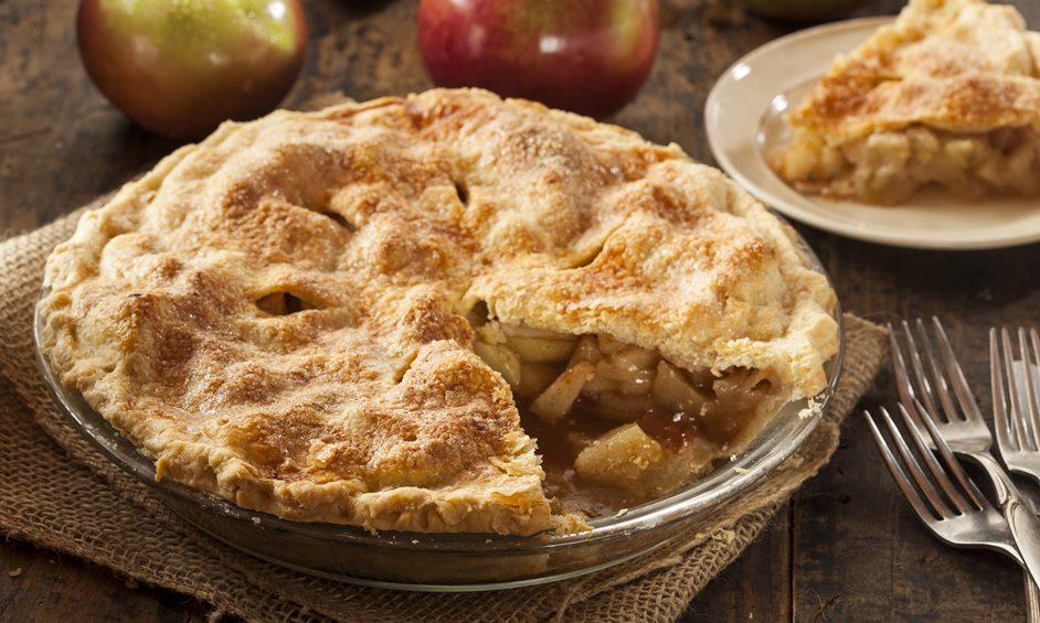 פאי תפוחים בחמישה מרכיבים