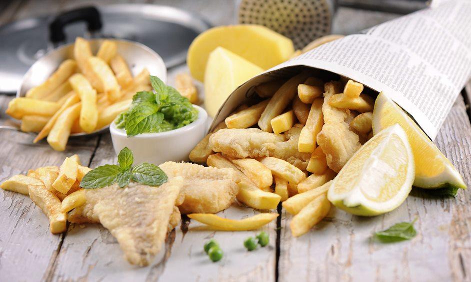 פיש & צ'יפס (דג מטוגן)