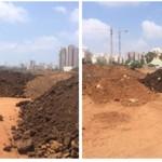 נתניה: נתפסו משאיות ששפכו פסולת בניין