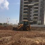 החלו עבודות פיתוח ברחוב הקליר