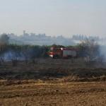 חמישה תושבי שטחים עוכבו בעקבות הדליקה בישוב פורת