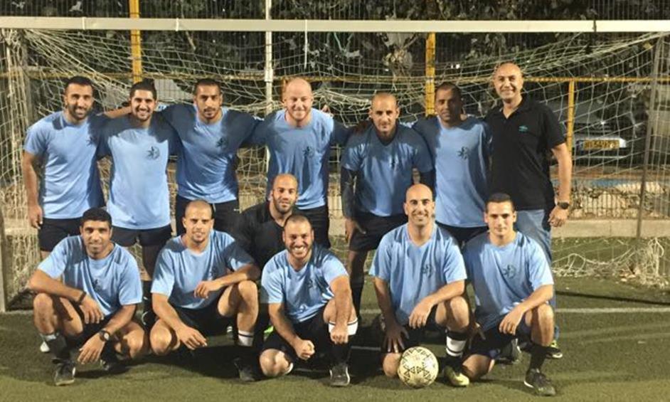 קבוצת הכדורגל של המשטרה רשמה נצחונות מרשימים