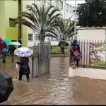 נזקי הגשמים: בית ספר יונתן נתניה הוצף