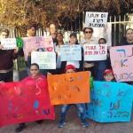 הורי ילדי בית ספר נורדאו נגד סגירת בית הספר