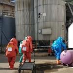 תרגיל נפילת טילים במפעל טמפו בנתניה