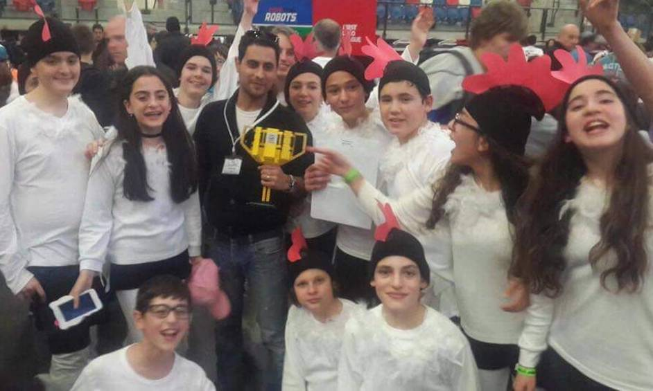 הישג לבית ספר עגנון – מקום ראשון בתחרות רובוטיקה