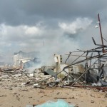 מחסן זיקוקים עלה באש – אדם נפצע קשה