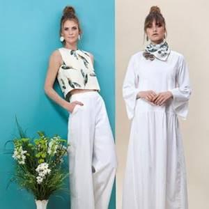 אאוטפיט לבן מבית סיליז נתניה מתלבשת