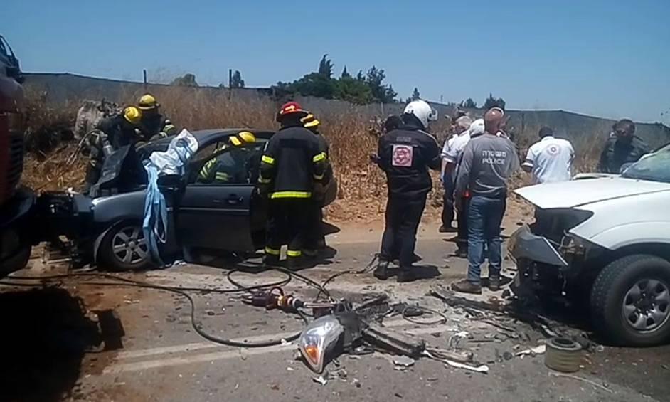 שני הרוגים בתאונה קטלנית סמוך לבית הלוי