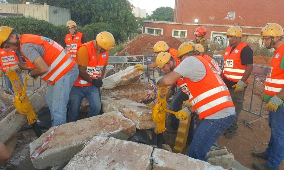 כפר יונה: יחידת סיוע לאירועים רבי נפגעים