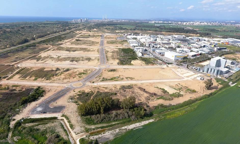 גידול בביקוש למגרשים בפארק תעשיות עמק חפר
