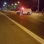 אישה נהרגה מפגיעת מספר כלי רכב בכביש החוף