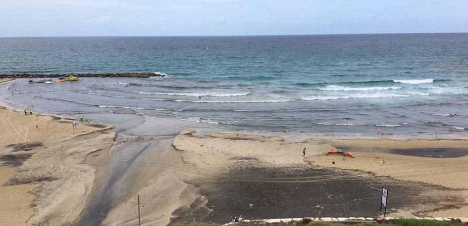 נתגלה זיהום במי הים בשני חופים בנתניה
