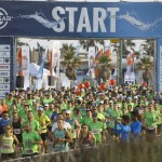חצי מרתון במרוץ החופים