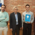 מקום ראשון לתלמיד דניאל מרקוביץ בתחרות מדענים צעירים