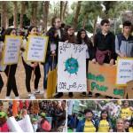 מצעד האקלים: מאות תלמידי נתניה מחו על המצב וקראו לשינוי
