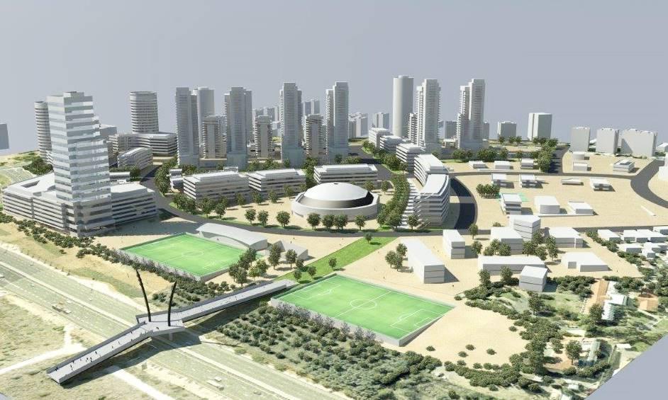 עיריית נתניה: היכל התרבות החדש יוקם בשכונת אגם 3