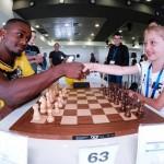 שחקני מכבי נתניה ניסו כוחם בטורניר השחמט הבינלאומי