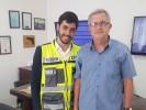 ארגון ידידים עם עיריית נתניה - חילוץ רכבים החלפת גלגל בהתנדבות