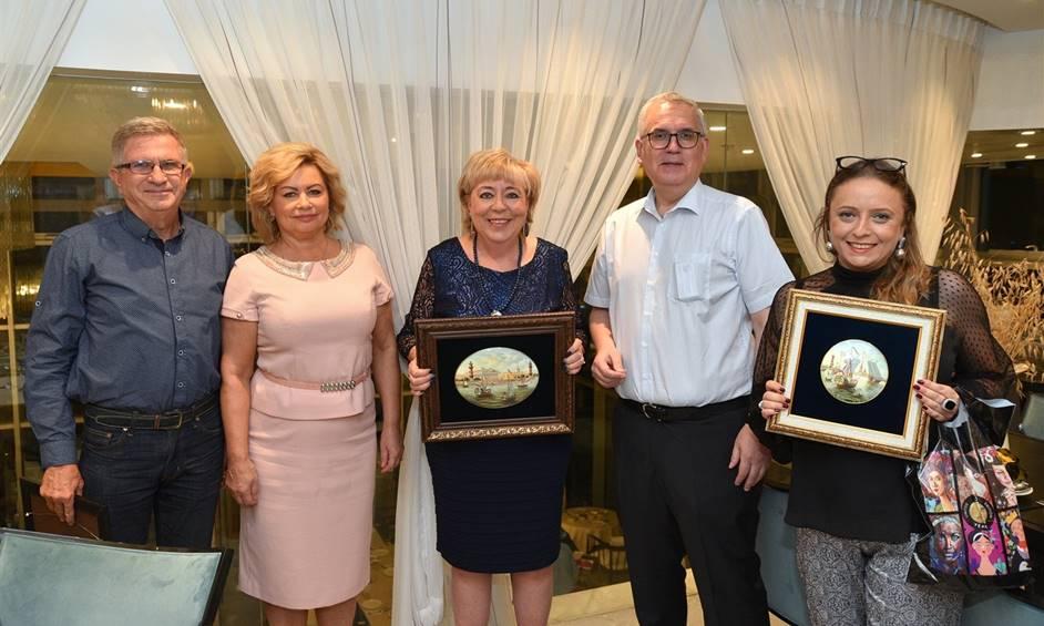 נחתמו שיתופי פעולה חדשים בין נתניה לסנט פטרסבורג