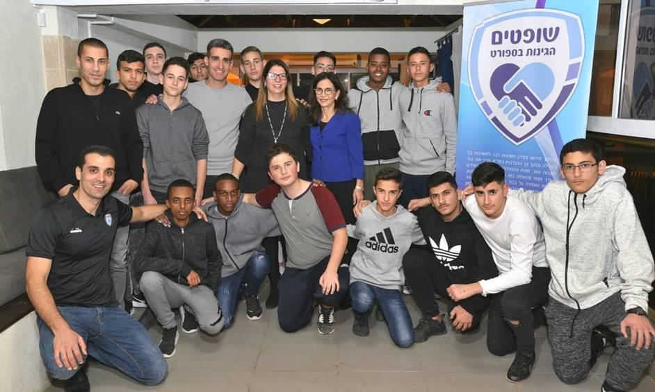 איגוד שופטי הכדורגל יכשיר נערים מנתניה כשופטים למען הקהילה