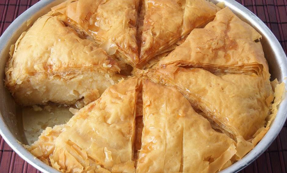 גלקטובורקו - מאפה פילו | מתכון לגלקטובורקו - המטבח היווני