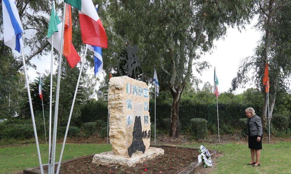 נתניה זוכרת את ג'ינו ברטלי, רוכב האופניים וחסיד אומות עולם