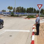 הקלה בתנועה: כביש הגישה לרכבת נתניה הפך לדו-סטרי